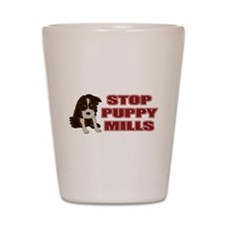 Stop Puppy Mills Shot Glass