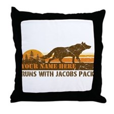 Jacobs Pack Throw Pillow