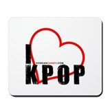 Korean Candy I <3 Kpop Mousepad