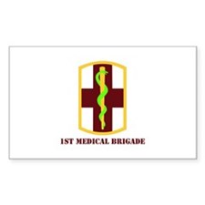 SSI - 1st Medical Bde with Text Decal