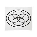 Plural Pride (Symbol only) - Throw Blanket