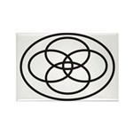 Plural Pride (Symbol only) - Rectangle Magnet (10