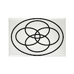 Plural Pride (Symbol only) - Rectangle Magnet (100