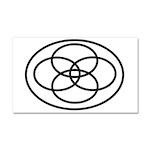 Plural Pride (Symbol only) - Car Magnet 20 x 12