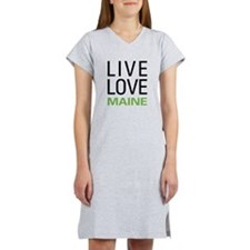 Live Love Maine Women's Nightshirt