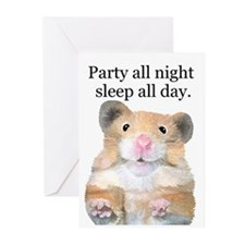 Party All Night Greeting Cards (Pk of 20)