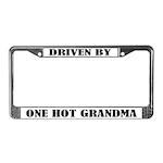 Funny Grandma Gift License Plate Frame