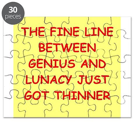 Crazy Gifts Toys Funny Genius Jokes Puzzle