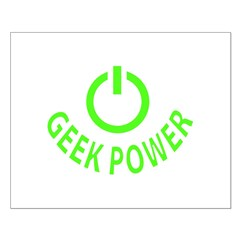 Geek Power Posters