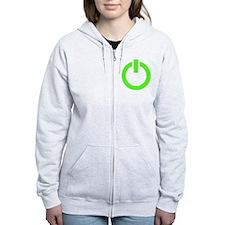 Geek Power Zip Hoodie