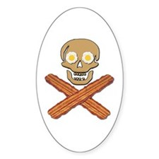 Food Pirate Bacon Eggs Decal