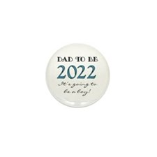 2012 Future Dad of Boy Mini Button (10 pack)