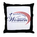 KCDW Throw Pillow