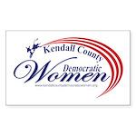 KCDW Sticker (Rectangle 10 pk)