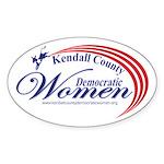 KCDW Sticker (Oval 10 pk)