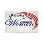 KCDW Rectangle Magnet (100 pack)