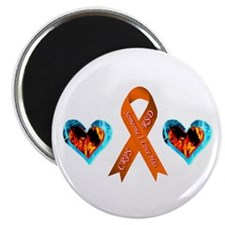 "Someone I Love Has CRPS Heart 2.25"" Magnet (100 pa"