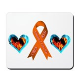 Someone I Love Has CRPS Heart Mousepad