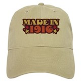 Made in 1916 Baseball Cap