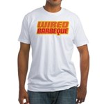 WiredBarbeque Fitted T-Shirt