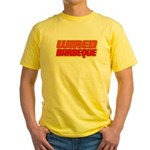 WiredBarbeque Yellow T-Shirt