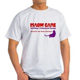 Who's Maow Care?  T-Shirt