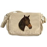 Horses Messenger Bag