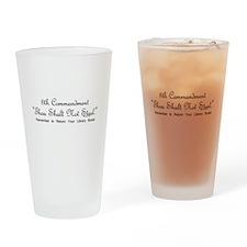 8th Commandment: Thou Shalt N Drinking Glass