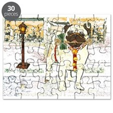 Holiday Pug Puzzle