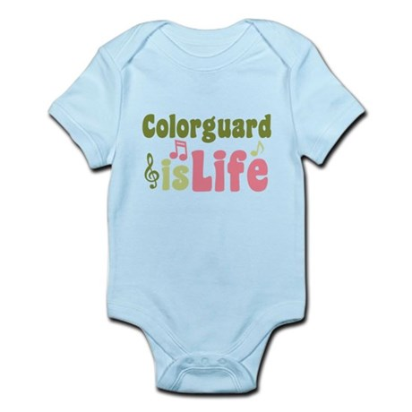 Colorguard is Life Infant Bodysuit