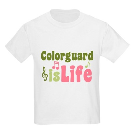 Colorguard is Life Kids Light T-Shirt