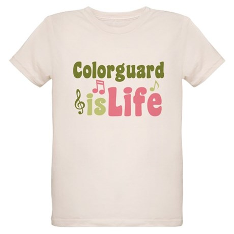 Colorguard is Life Organic Kids T-Shirt