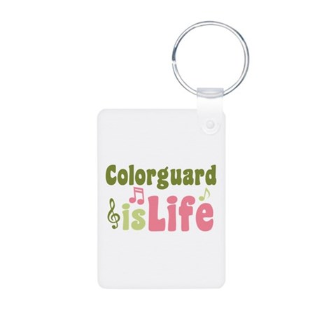 Colorguard is Life Aluminum Photo Keychain
