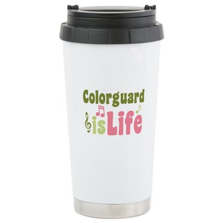 Colorguard is Life Ceramic Travel Mug