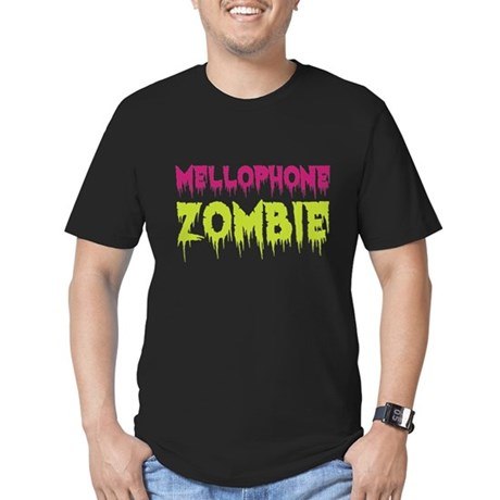 Mellophone Zombie Men's Fitted T-Shirt (dark)