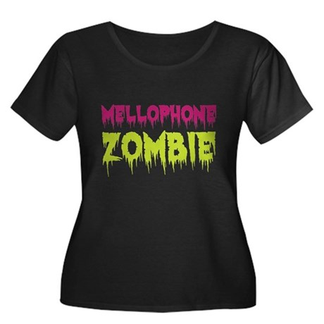 Mellophone Zombie Women's Plus Size Scoop Neck Dar
