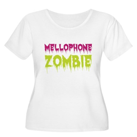 Mellophone Zombie Women's Plus Size Scoop Neck T-S