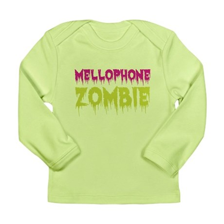 Mellophone Zombie Long Sleeve Infant T-Shirt