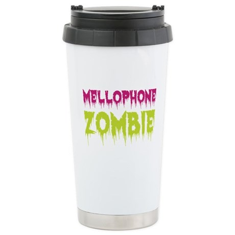 Mellophone Zombie Ceramic Travel Mug