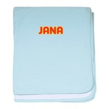 Jana in Movie Lights baby blanket