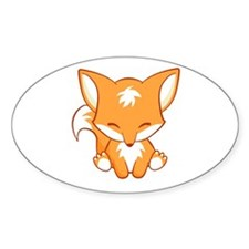 Cute Cute fox Decal