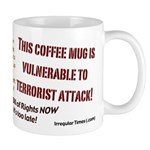 Orange Alert!  Vulnerable Mug!