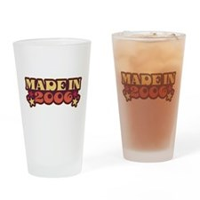 Made in 2006 Drinking Glass