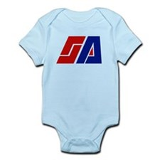 Space Academy Logo Infant Bodysuit