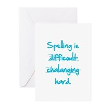 Spelling Greeting Cards (Pk of 20)