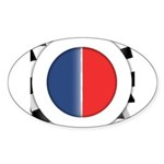 Cars Round Logo Blank Sticker (Oval 50 pk)