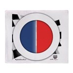 Cars Round Logo Blank Throw Blanket