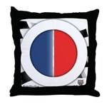 Cars Round Logo Blank Throw Pillow