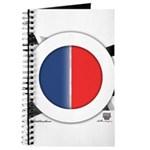 Cars Round Logo Blank Journal