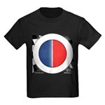 Cars Round Logo Blank Kids Dark T-Shirt